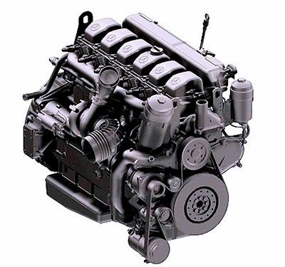 Mercedes-Benz. Рядный, 6 цилиндров ОМ 457 LA