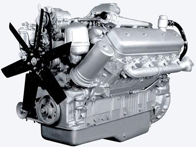 ЯМЗ-238НД-5, V образный, 8 цилиндров