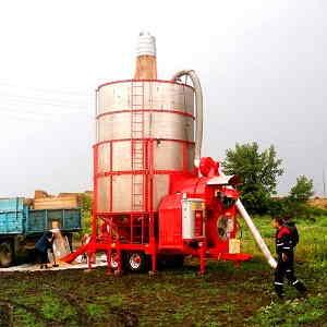 Мобильная зерносушилка АТМ 15