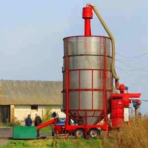 Мобильная зерносушилка АТМ 34